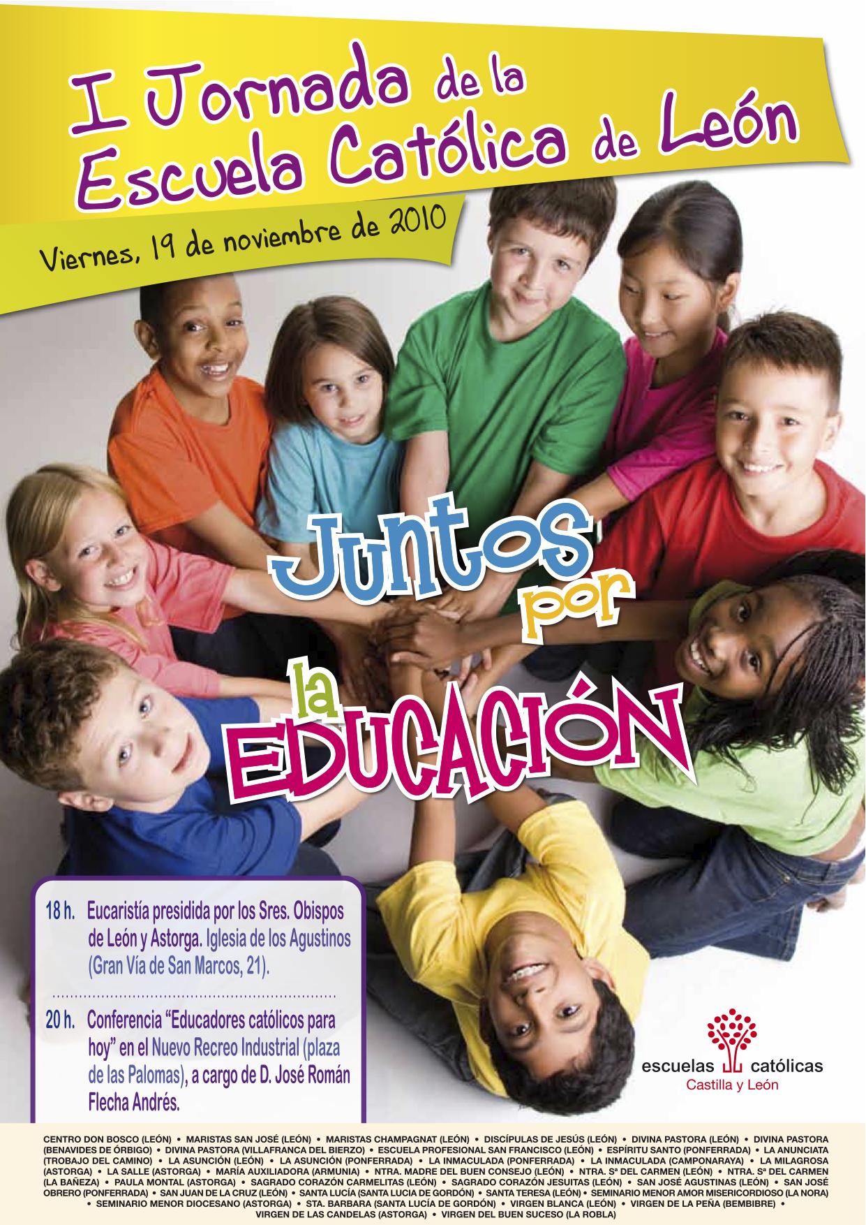I Jornada de la Escuela Católica de León