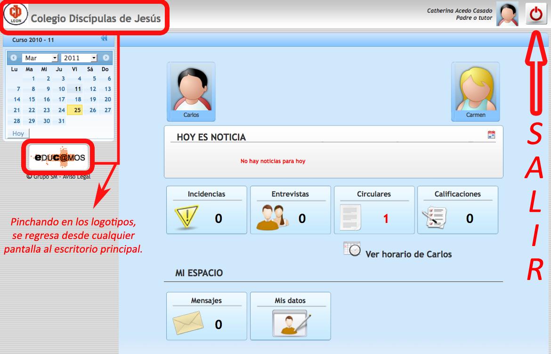 Interfaz Educ@mos