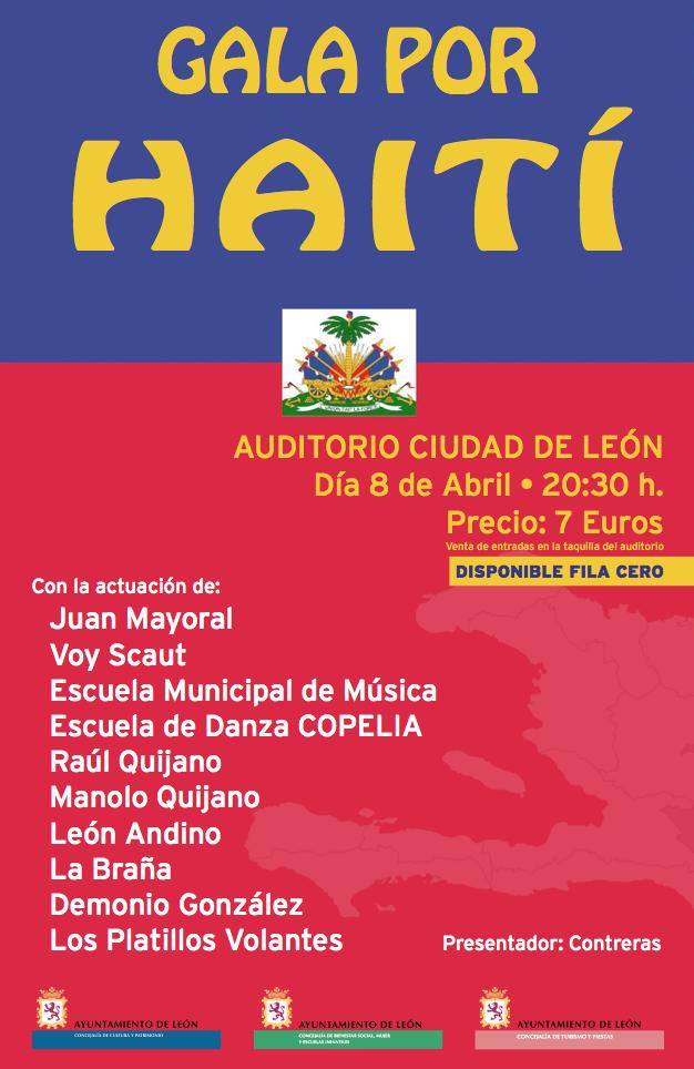 Cartel gala Haití