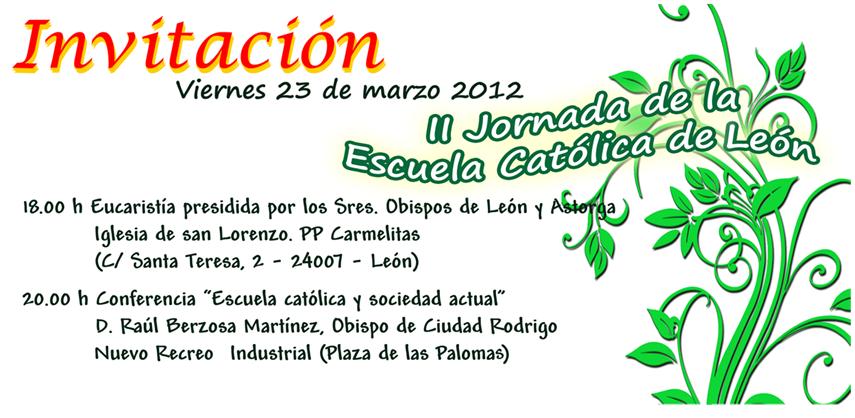 II Jornada de la Escuela Católica de León
