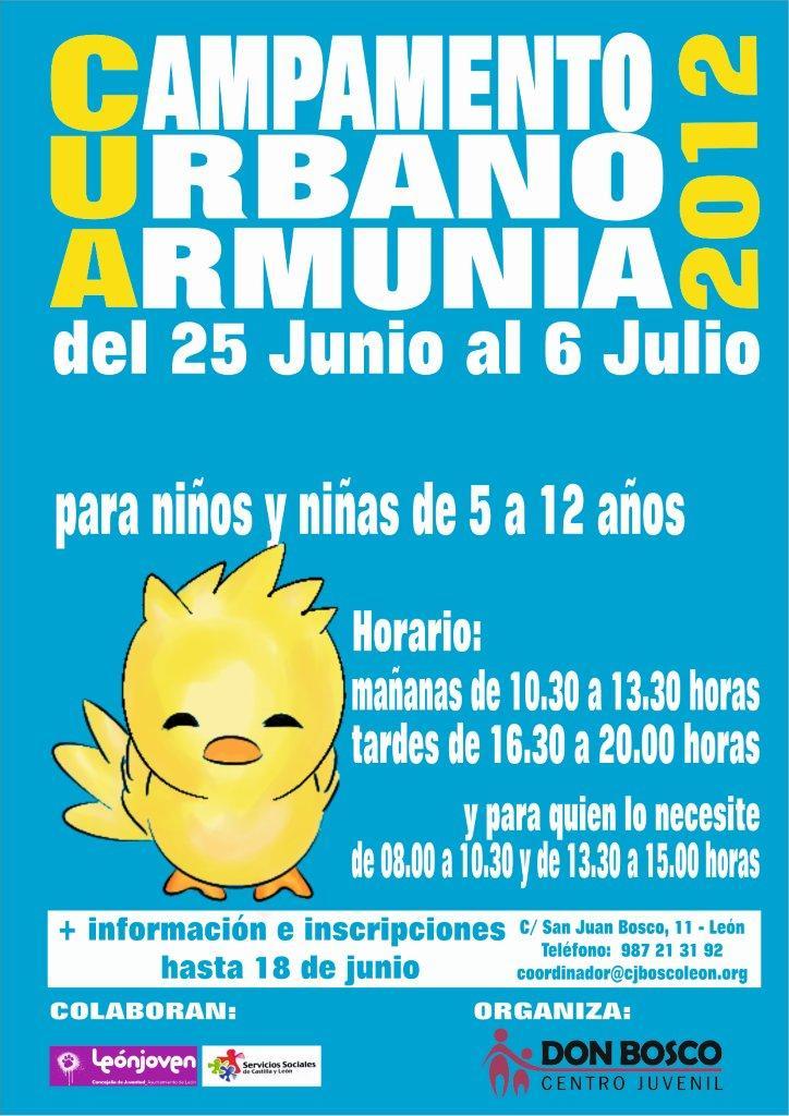 Campamento urbano Armunia 2012