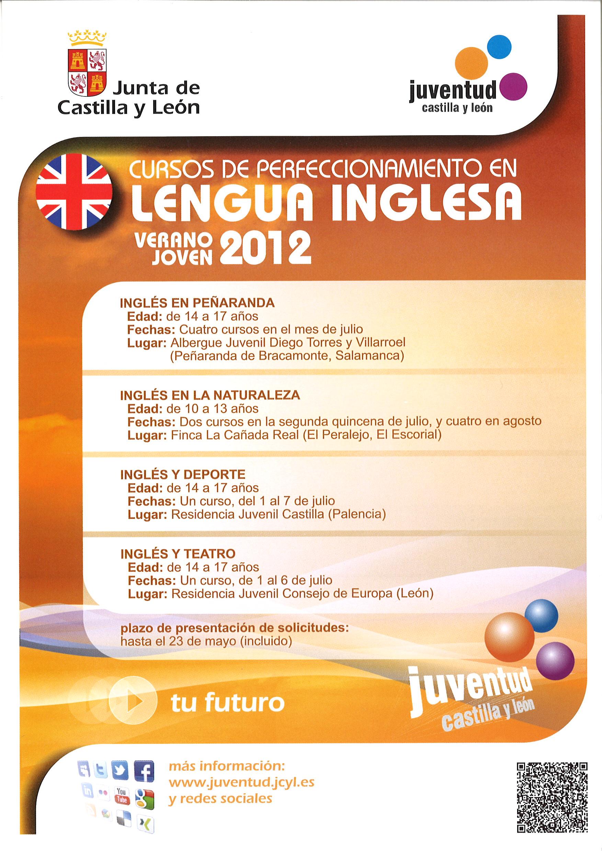 Cursos de perfeccionamiento en Lengua Inglesa 'VERANO JOVEN' 2012