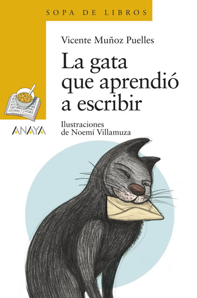 VICENTE MUÑOZ PUELLES, La gata que aprendió a escribir