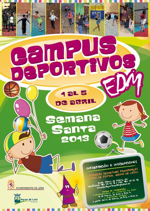 Campus deportivos Semana Santa 2013