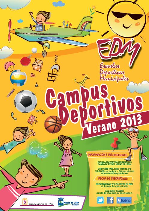 Campus Verano 2013 - Escuelas Deportivas Municipales