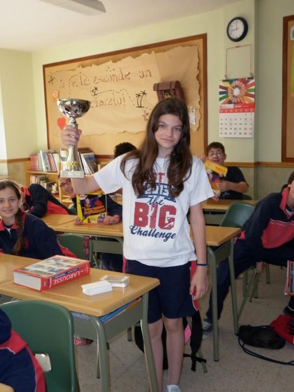 María Luisa obtuvo el primer premio en el concurso 'Big Challenge'