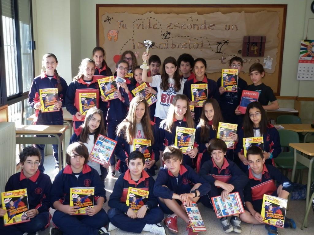 Los alumnos de 1º de E.S.O. participaron en el concurso 'Big Challenge'