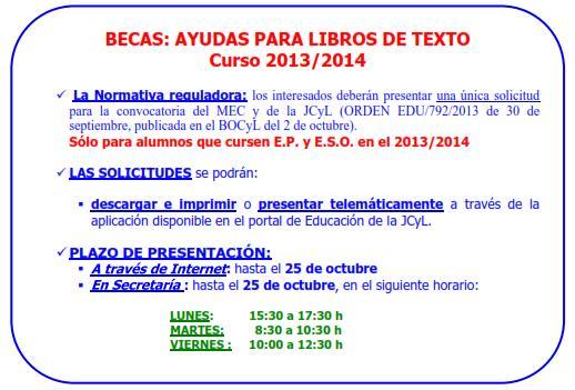 ayuda libros texto 13-14