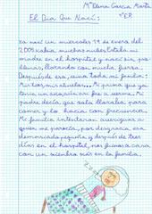 Redacción octubre 4º E.P. (pincha para ampliar)