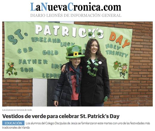 Vestidos de verde para celebrar St. Patrick's Day