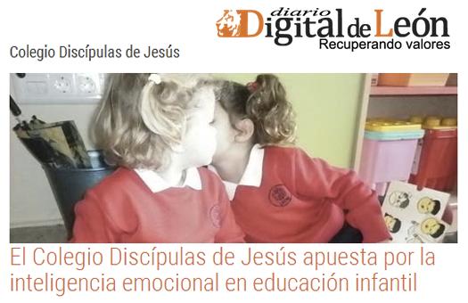 Diario Digital de León - El Colegio Discípulas de Jesús apuesta por la inteligencia emocional en educación infantil