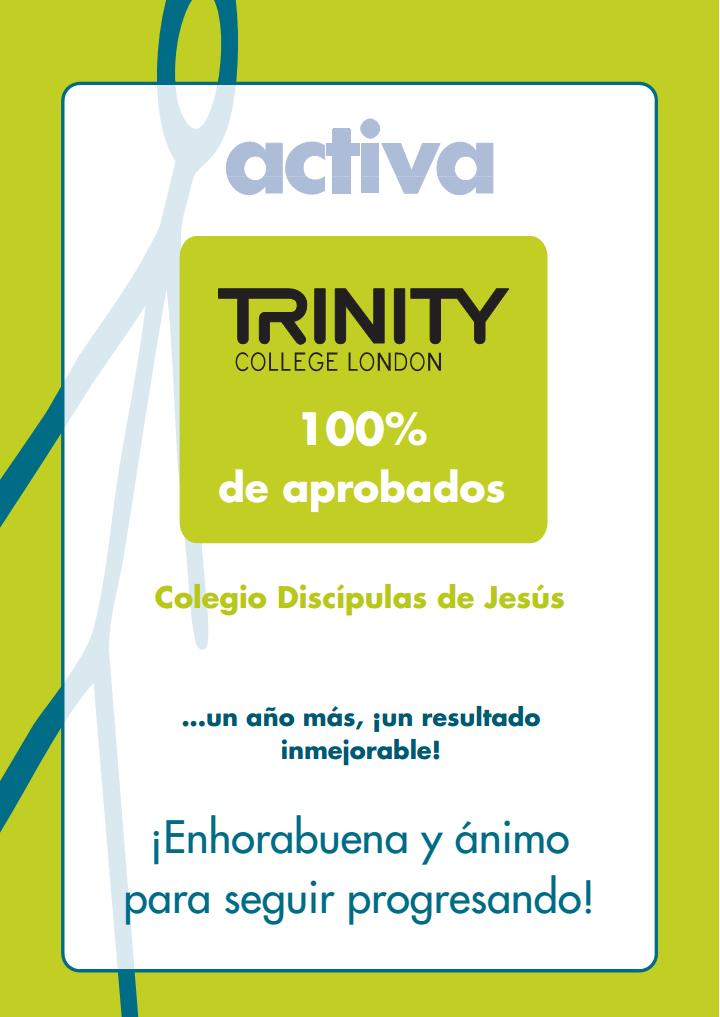 aprobados trinity 2015