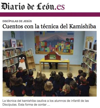 Diario de León - Cuentos con la técnica del Kamishibai