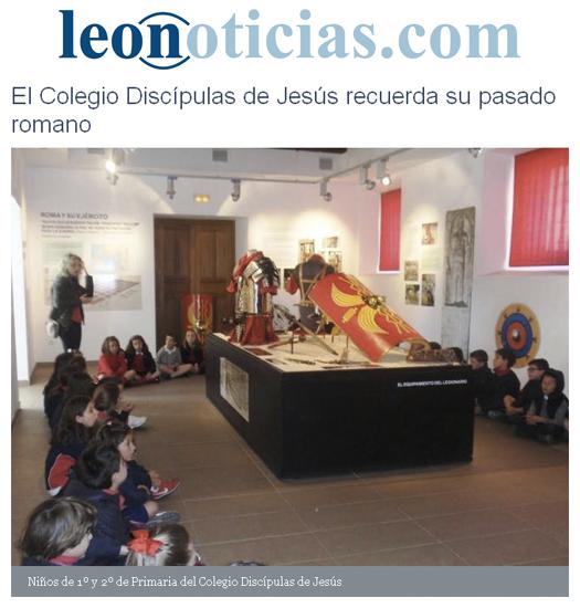 Leonoticias - El Colegio Discípulas de Jesús recuerda su pasado romano