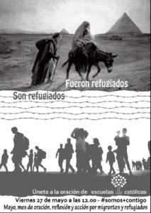 cartel oración refugiados