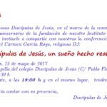 Discípulas de Jesús, un sueño hecho realidad